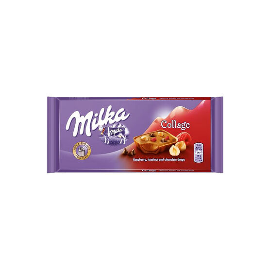 Milka Collage Fruit Chocolate Bar - 93g