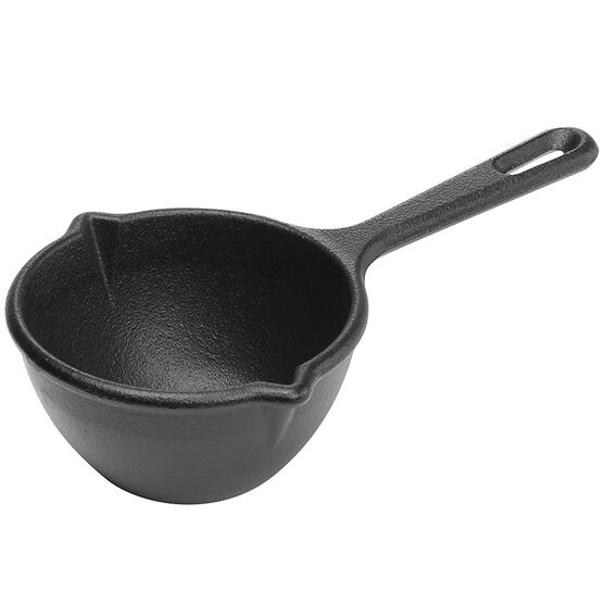 Lodge Cast Iron Melting Pot - Black - 15oz