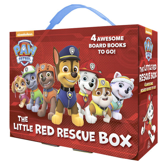 Paw Patrol: The Little Red Rescue Box