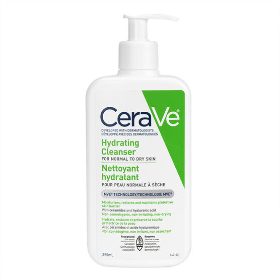 CeraVe Hydrating Cleanser - 355ml