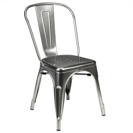 London Drugs Metal Chair - Silver
