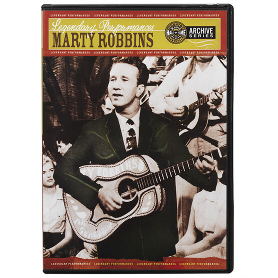 Marty Robbins - Legendary Performances - DVD