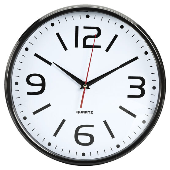 London Drugs Wall Clock - Milan - 28.6 x 5.8cm