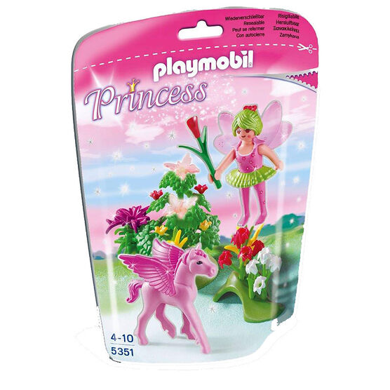 Playmobil Spring Fairy Princess with Pegasus - Assorted - 53510