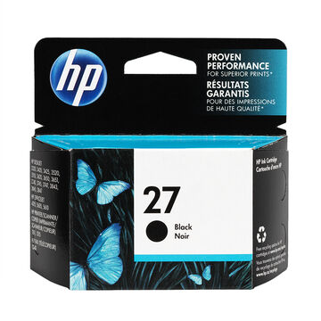 HP 27 DeskJet 3320/3420 Ink Cartridge - Black - C8727AC