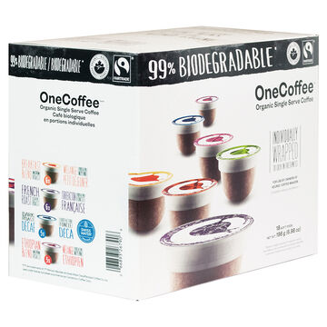OneCoffee Single Use Soft Pods - Variety Pack - 18's