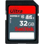 SanDisk Ultra 32 GB SDHC Card - SDSDU-032G-U46S