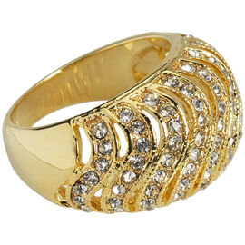 Marca Crystal Ring - Size 8