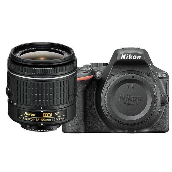 Nikon D5500 with AF-P DX 18-55mm VR Lens - PKG 24657