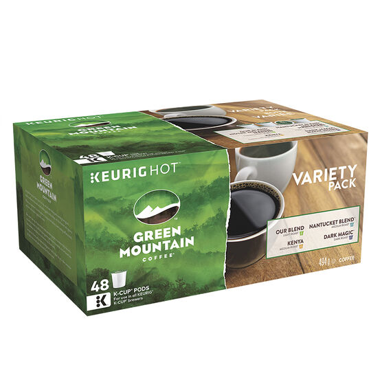 K-Cup Green Mountain Coffee - Variety Pack - 48 Servings