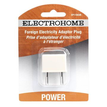 Electrohome EP110EUR - Power connector adapter - power 2-pole (M) - power 2-pole (F)