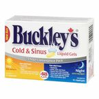 Buckley's Cold & Sinus Liquid Gels Day and Night - 24's + 24's