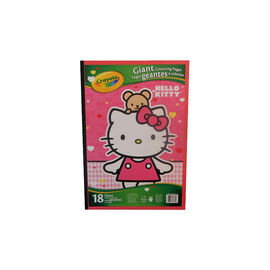 Hello Kitty Giant Colouring Flood Pad