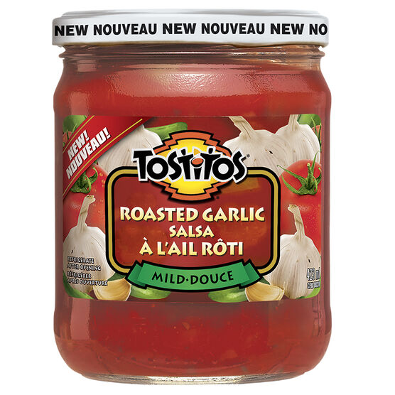 Tostitos Salsa - Roasted Garlic - 423ml