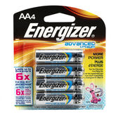 Energizer Advanced Lithium AA Batteries - 4 pack
