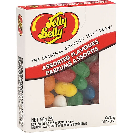 Jelly Belly Assorted Flavors Box - 50G