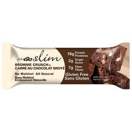 NuGo Slim Protein Bar - Brownie Crunch - 45g