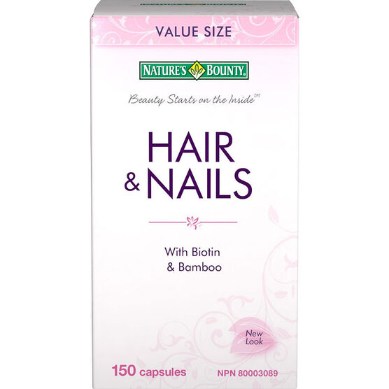 Natures Bounty Hair and Nails - 150's