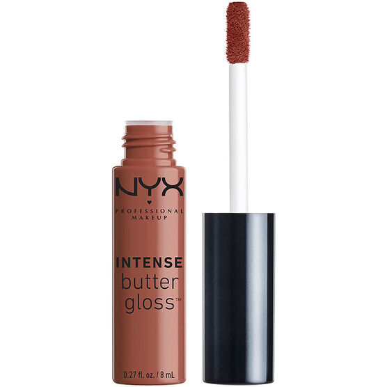 NYX Professional Makeup Intense Butter Gloss - Chocolate Crepe