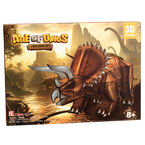 Age of Dinos Triceratops Paper/Foam 3D Puzzle - 41 Pieces