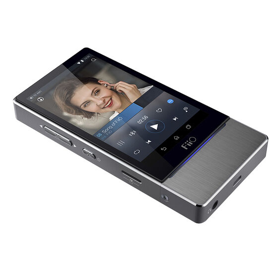FiiO High-Resolution Touch Screen Android-Based Audio Player - Silver - X7
