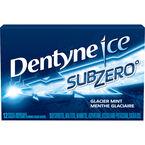 Dentyne Ice Sub Zero Gum - Glacier Mint - 12 pieces