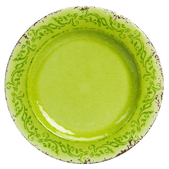 London Drugs It's Melamine Plate - Green - 11inch