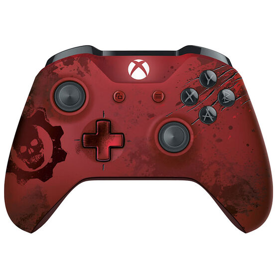 Xbox Wireless Controller Gears of War 4: Crimson Omen Limited Edition - Red Metallic
