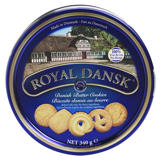 Royal Dansk Danish Butter Cookies - 340g