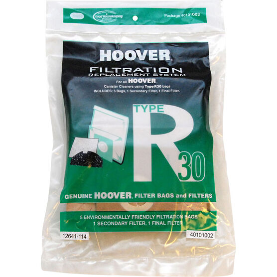 Hoover Bag and Filter Set - Type R30 - 5 pack