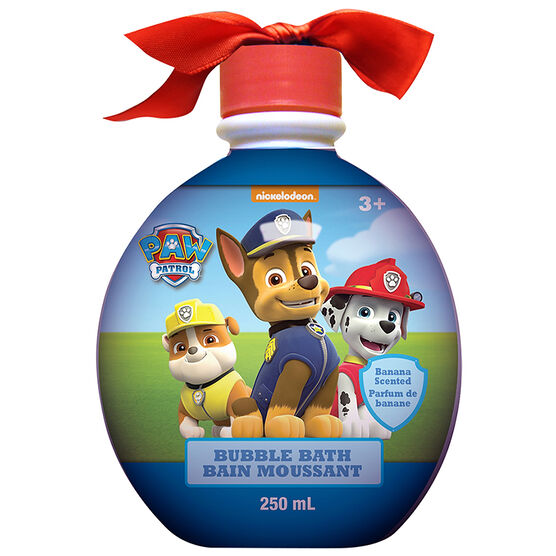 Paw Patrol Bubble Bath Ornament - Banana - 250ml