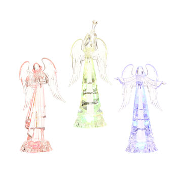 Winter Wishes LED Angel - 10.75 inch - Assorted