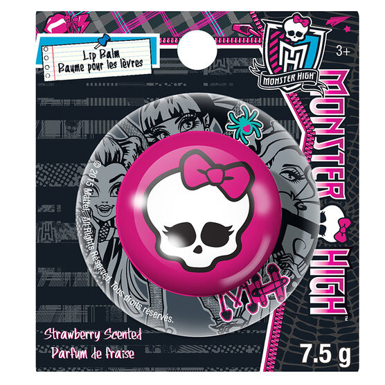 Monster High Lip Balm - Strawberry - 75g
