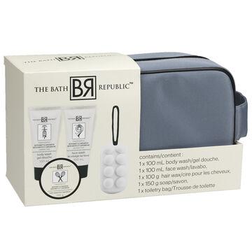 The Bath Republic Men's Toiletry Bag - 5 piece