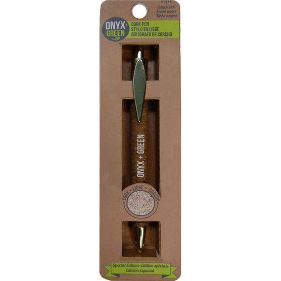 Onyx Green Retractable Pen Cork