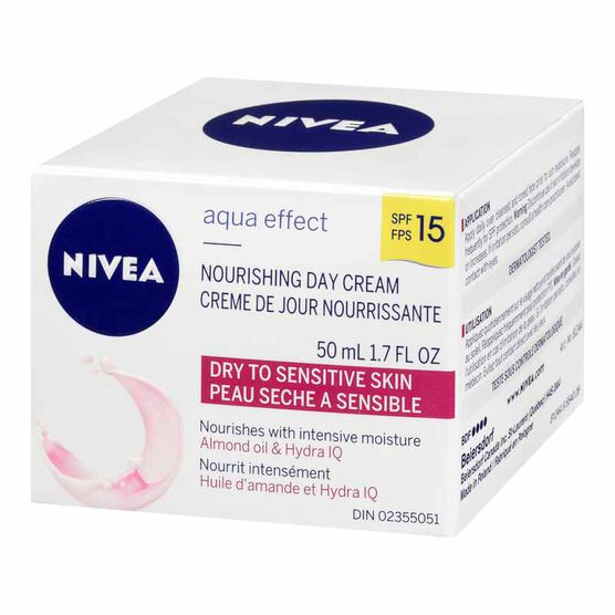Nivea Visage Aqua Effect Nourishing Day Cream SPF 15 - 50ml