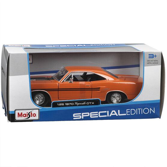 Maisto 1970 Plymouth GTX - Orange