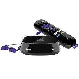 Roku 3 Streaming Player - Black - 4230CA