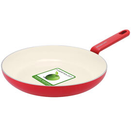Green Life Foodies Fry Pan - Red - 24cm
