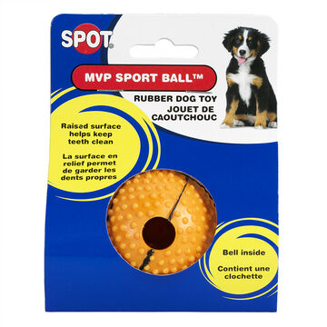 MVP Sport Ball with Bell for Dogs - 2.5inch - Assorted