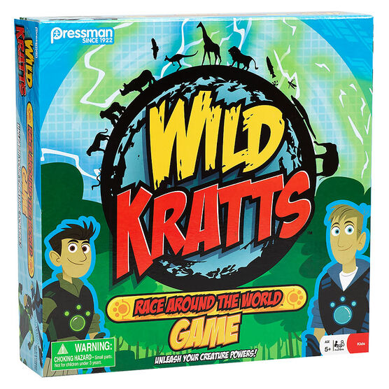Wild Kratts Race Around the World Game