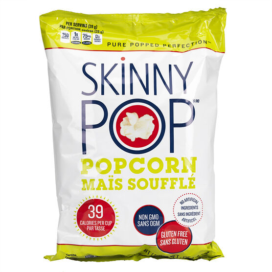 Skinny Pop Popcorn- Original - 125g