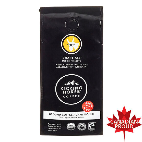 Kicking Horse Ground Coffee - Smart Ass - 284g