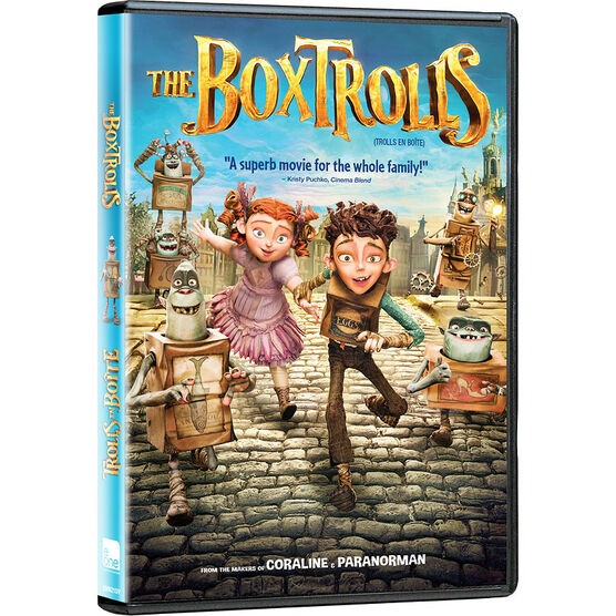 The Boxtrolls - DVD