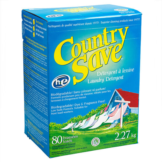 Country Save HE Laundry Detergent - 2.27kg
