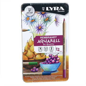 Lyra Aquarelle Watercolour Pencils - 12 pack