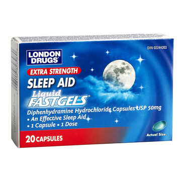 London Drugs Sleep Aid Softgels - Extra Strength - 20's