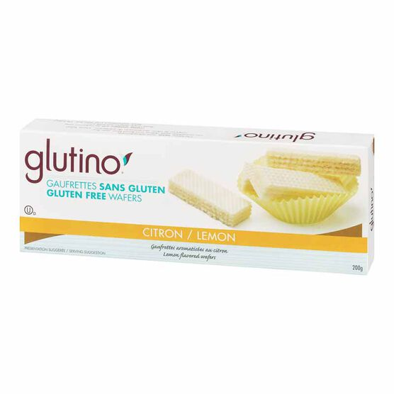 Glutino Gluten Free Wafer Cookie - Lemon - 200g