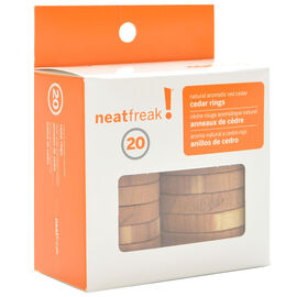 NeatFreak Cedar Rings - 20 pack