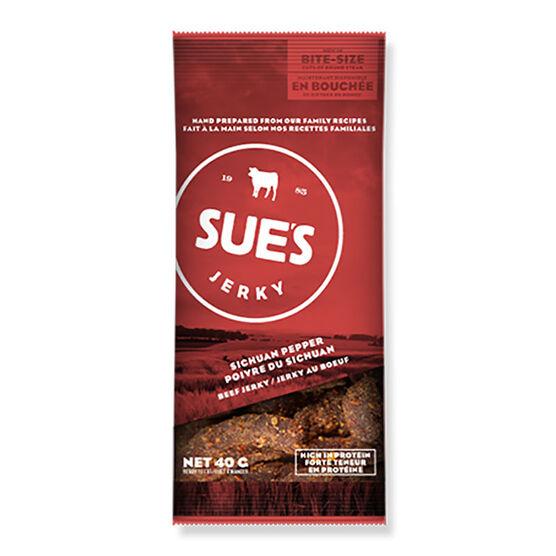 Sue's Jerky - Sichuan Beef - 40g